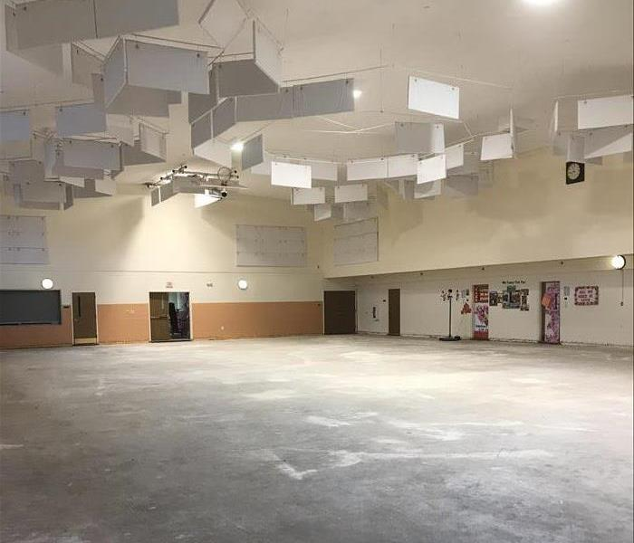 Gymnasium Flooded in Somerset, NJ After