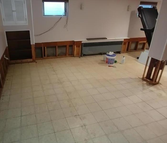 Basement Water Damage in Piscataway, NJ After