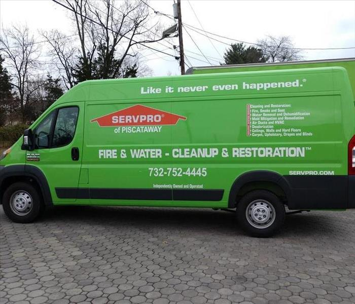 SERVPRO of Piscataway Adds a Sprinter to the Fleet