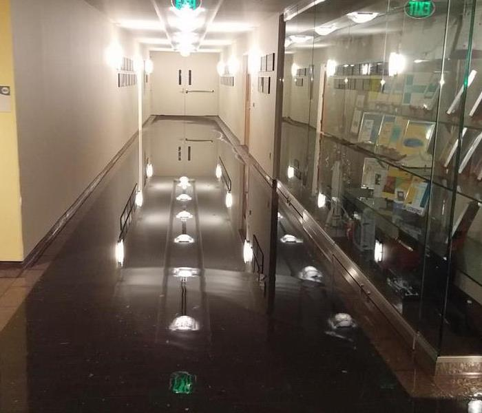 Office building flood in Somerset